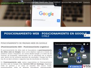 Posicionamiento web empresas