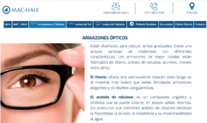 sucursales optica mac-hale en chile
