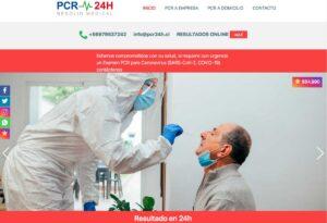 Examen PCR a domicilio en santiago