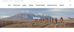 Rastreo de minas antipersonales en chile