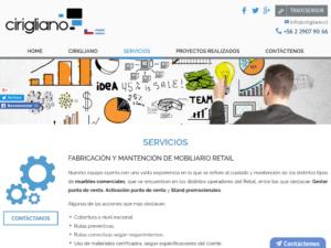 Fabricacion mobiliario retail
