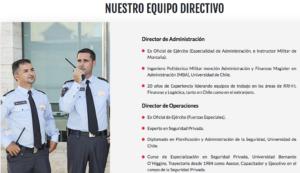 servicios de conserjeria en santiago